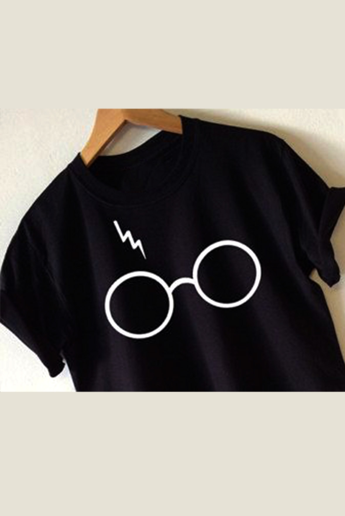 Spectacles t-shirt black