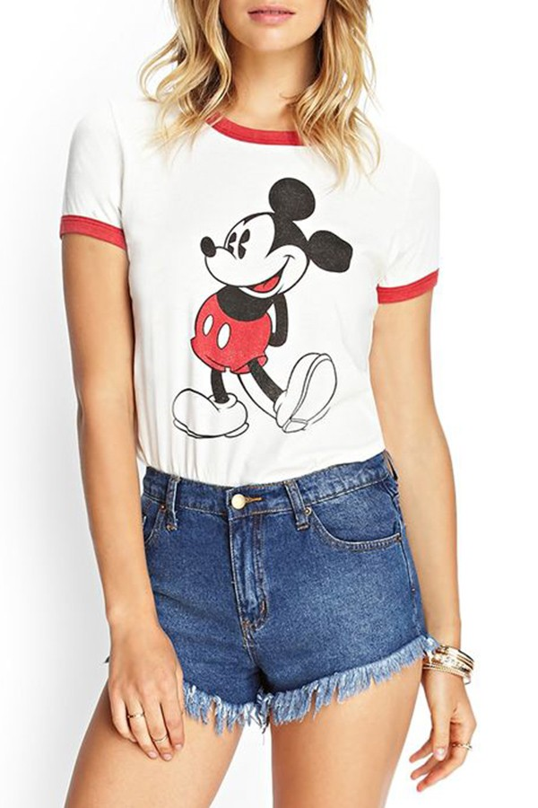 Mickey Mouse Knit Tee