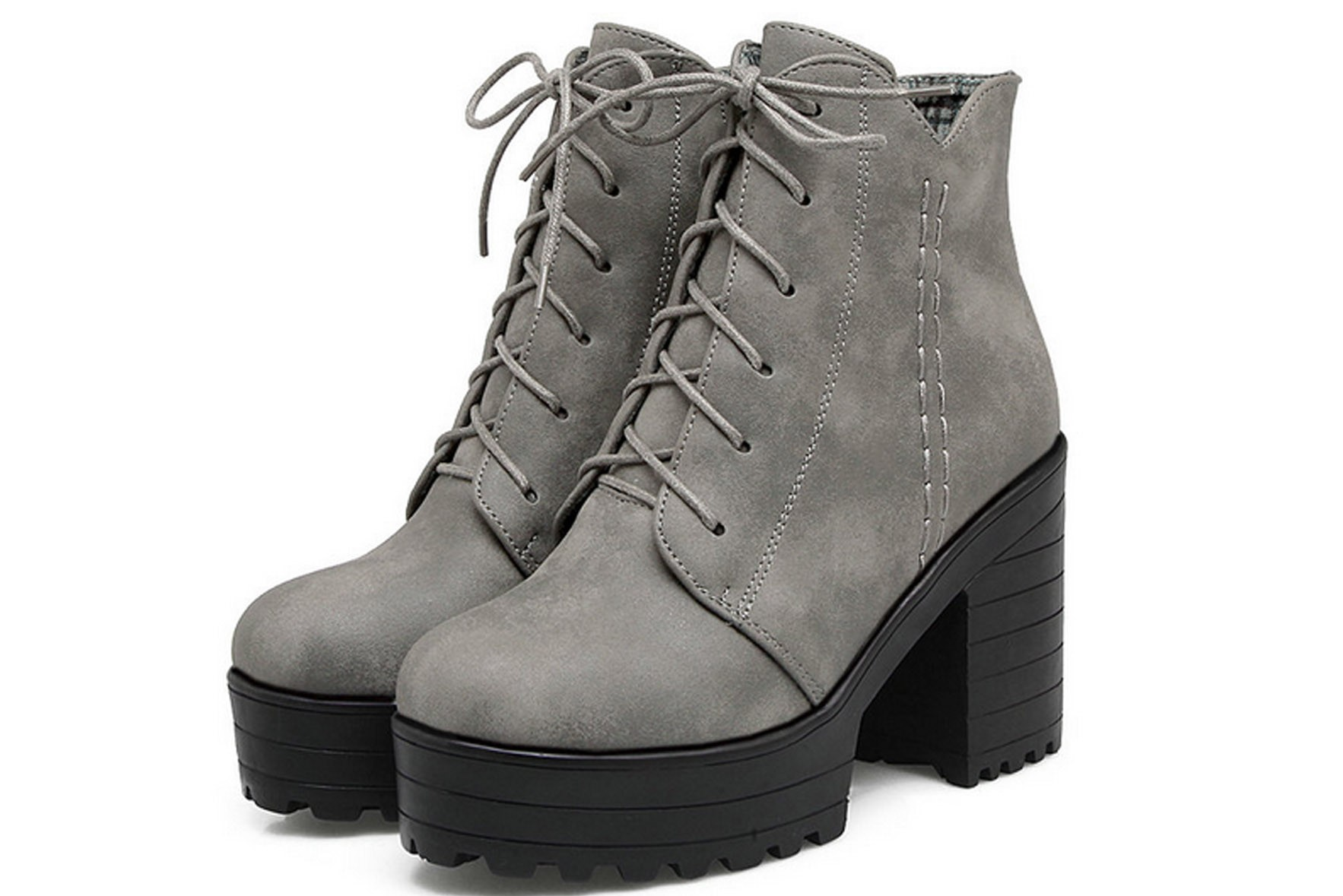 Step in my boots grey