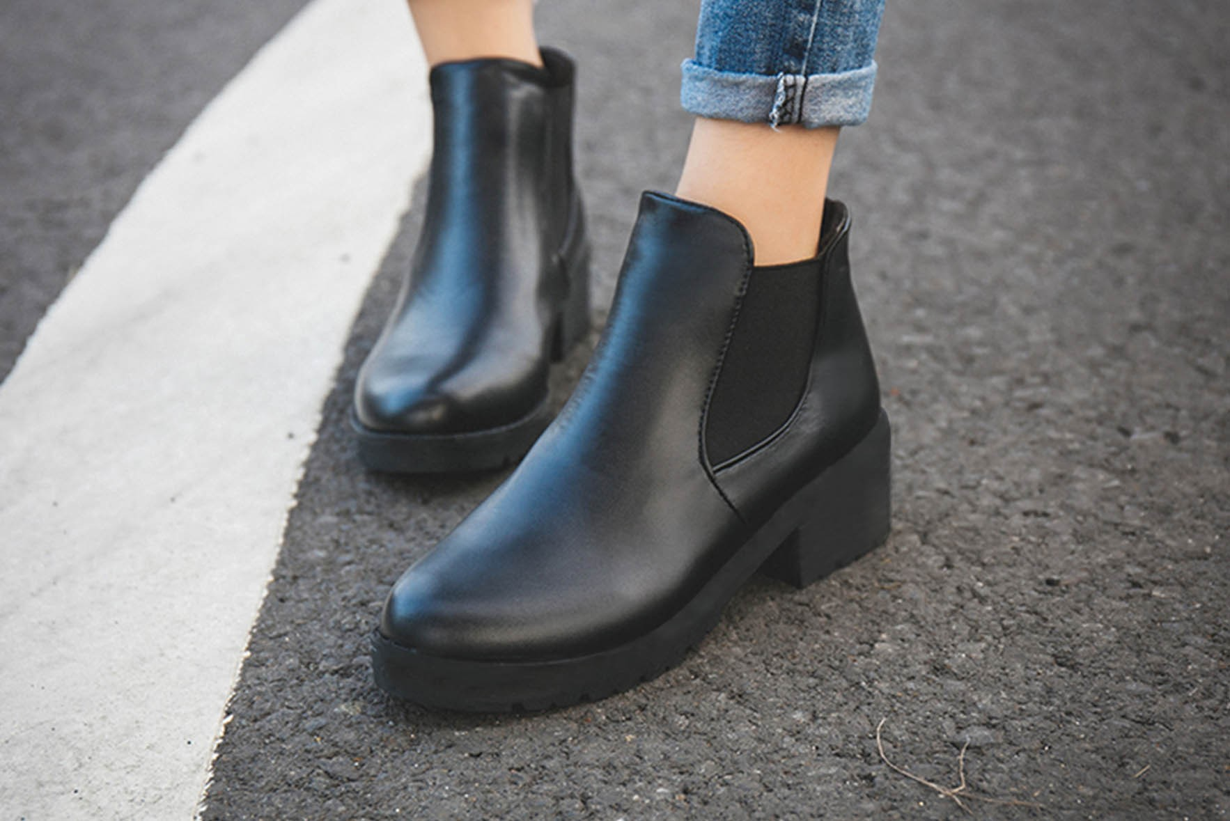 New Hot Style Fashion Women Boots Black