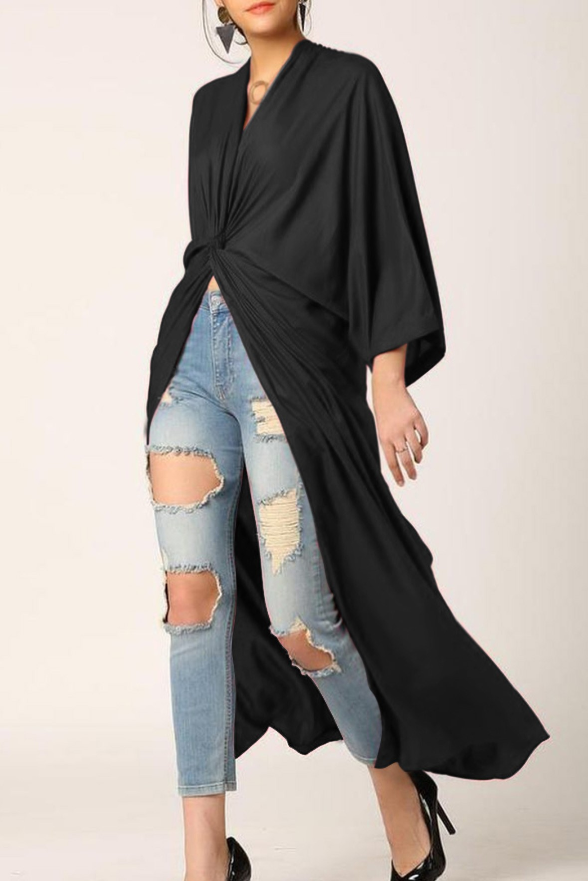 City lights tunic