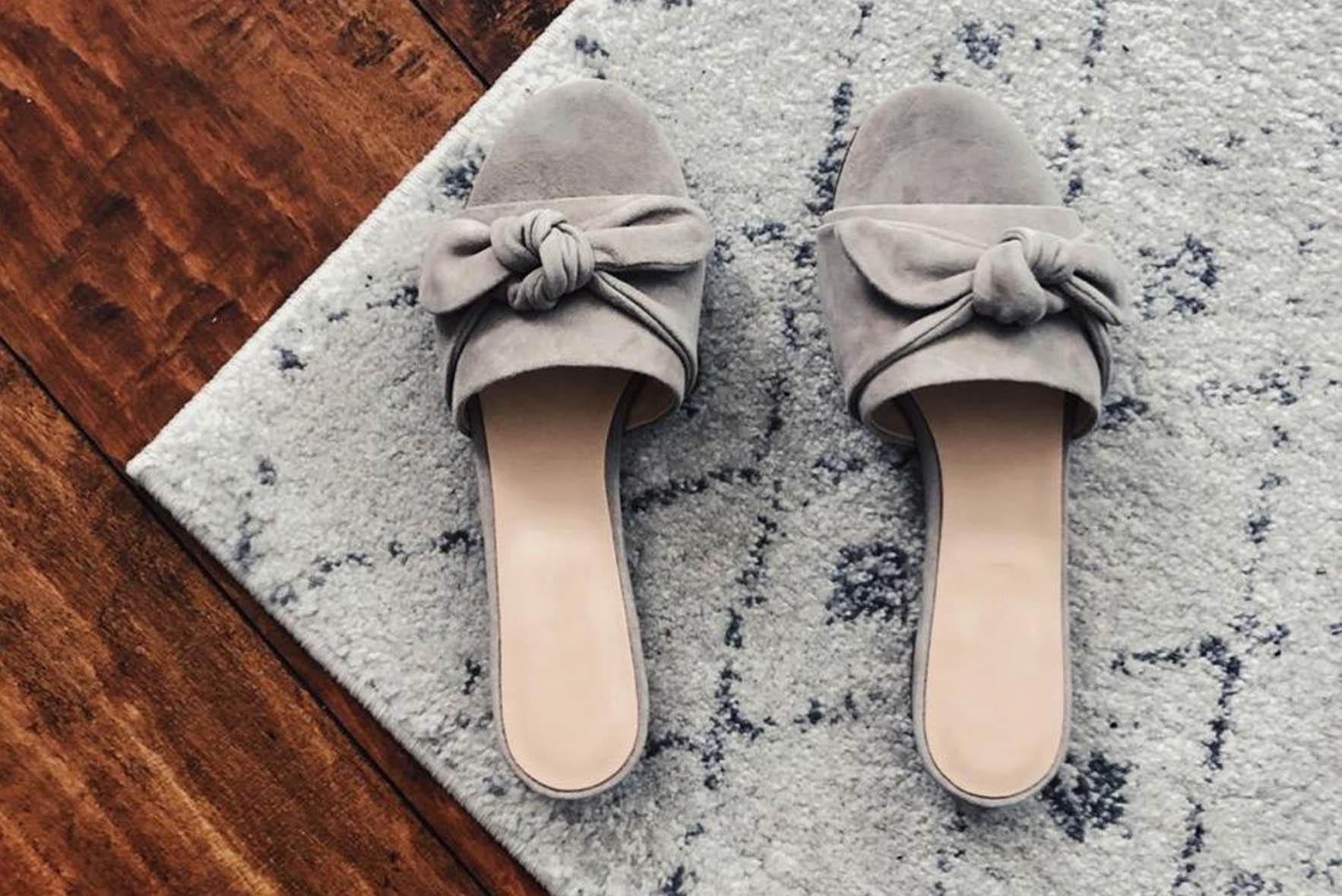Cupcakes and cashmere flats