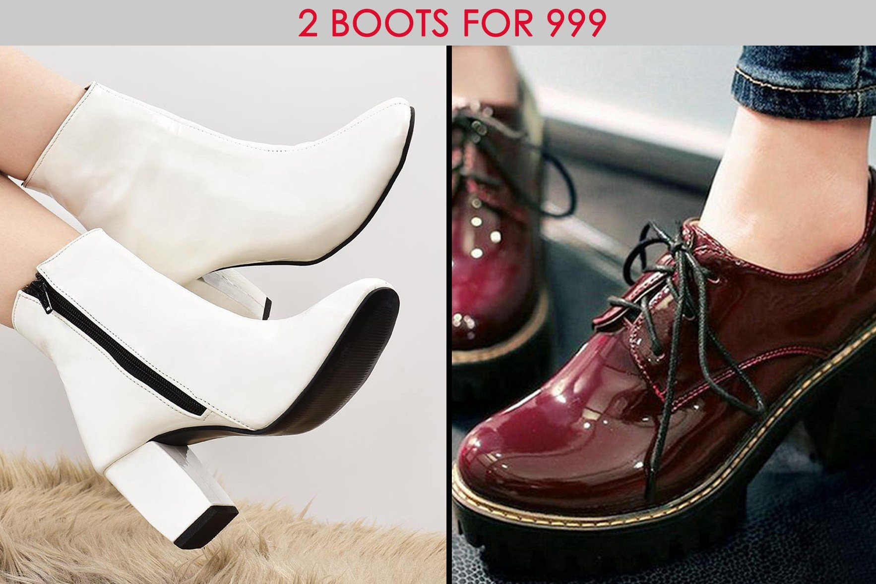 Combo- Cannot Stop My Walk Boot White & California honeydrops boots
