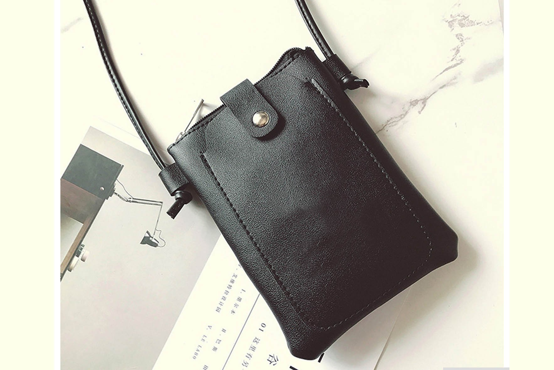 Ease my walk pouch with sling Black