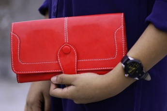 Red Rose Clutch