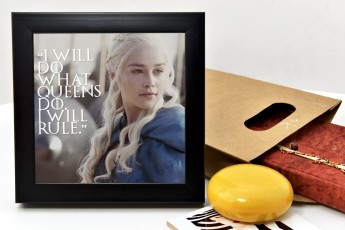 I Will Do What Queens Do Will Rule Frame