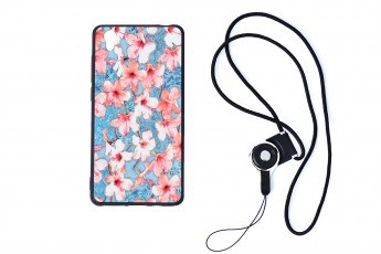 Vivo y51 Phone Floral Case with phone string