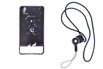 Vivo y51 Phone Sky of love Case with phone string