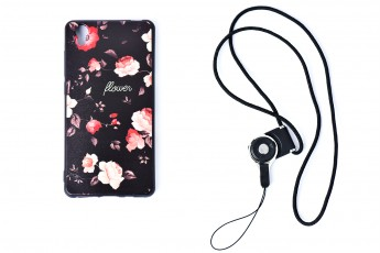 Vivo y51 Phone Flower Case with phone string