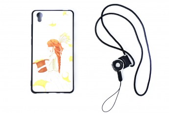 Vivo y51 Phone Girl Case with phone string