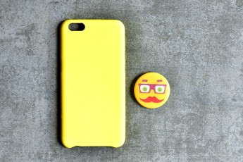 Oppo R9S Thermoinduction Yellow Phone Case