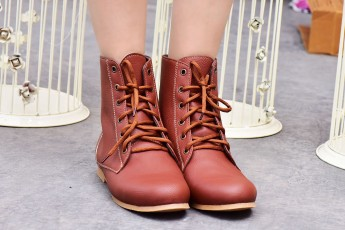 A Story Brown Boots