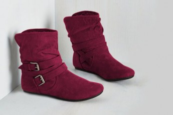 Grab The Chance Boots Marsala
