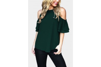Sweet and greet green top
