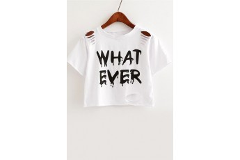 Whatever cutout top