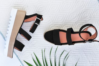 Delight Black wedges