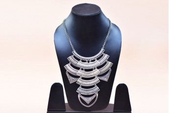 Egyptian inspired layered necklace