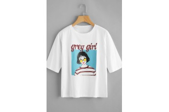 Grey girl t-shirt