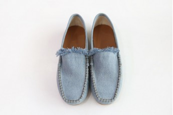 Happy feet loafer Light blue