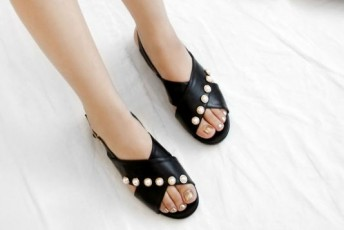 Simply There Flats Black