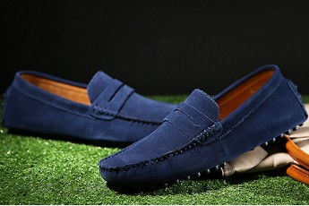 Summer Style Men Loafer Navy Blue
