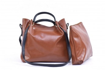 Set of 2 - Brown Riding bags