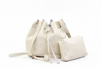 Set of 2 - Off White Sand bags