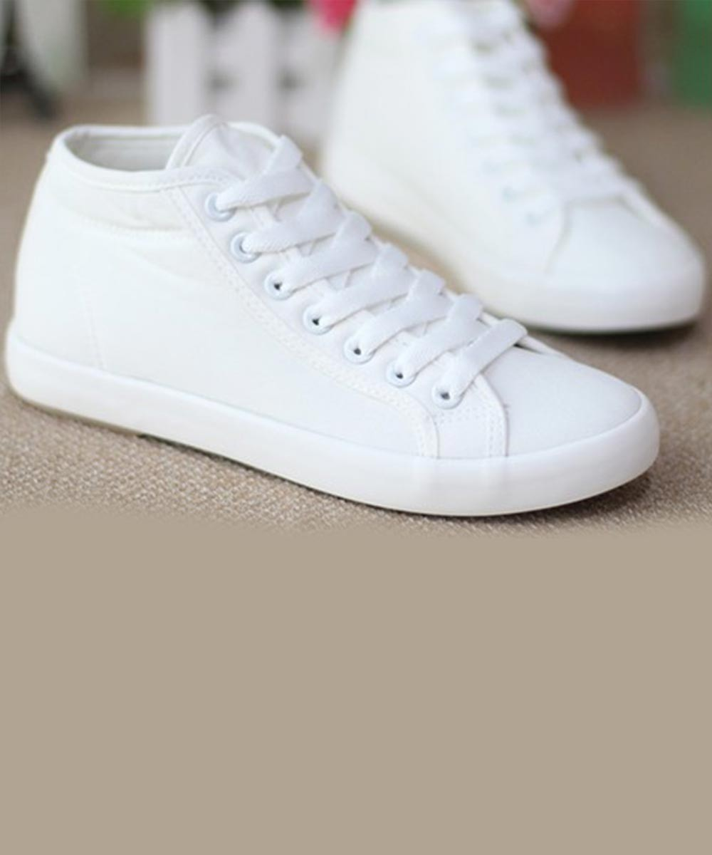 Party Up white sneakers