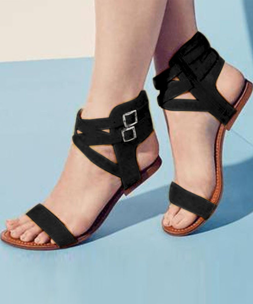 Playing Strap Flats Black
