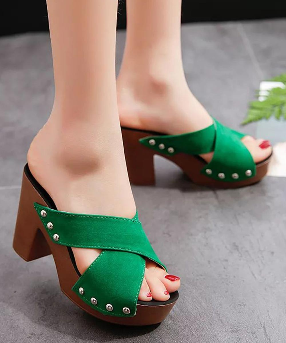 Care for you heels green