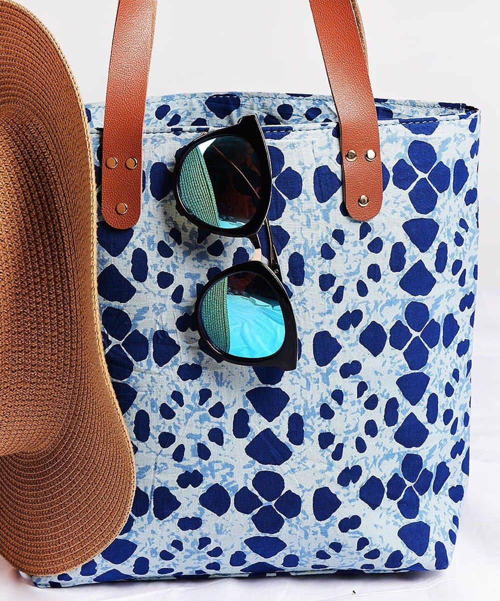 Love indigo all purpose bag