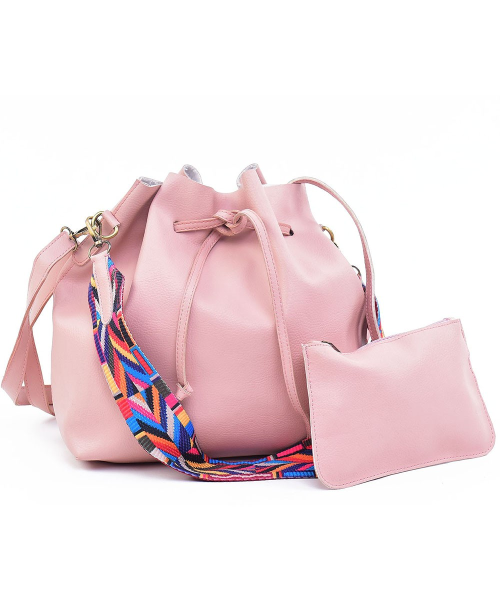 Set of Two Pink paradise bag