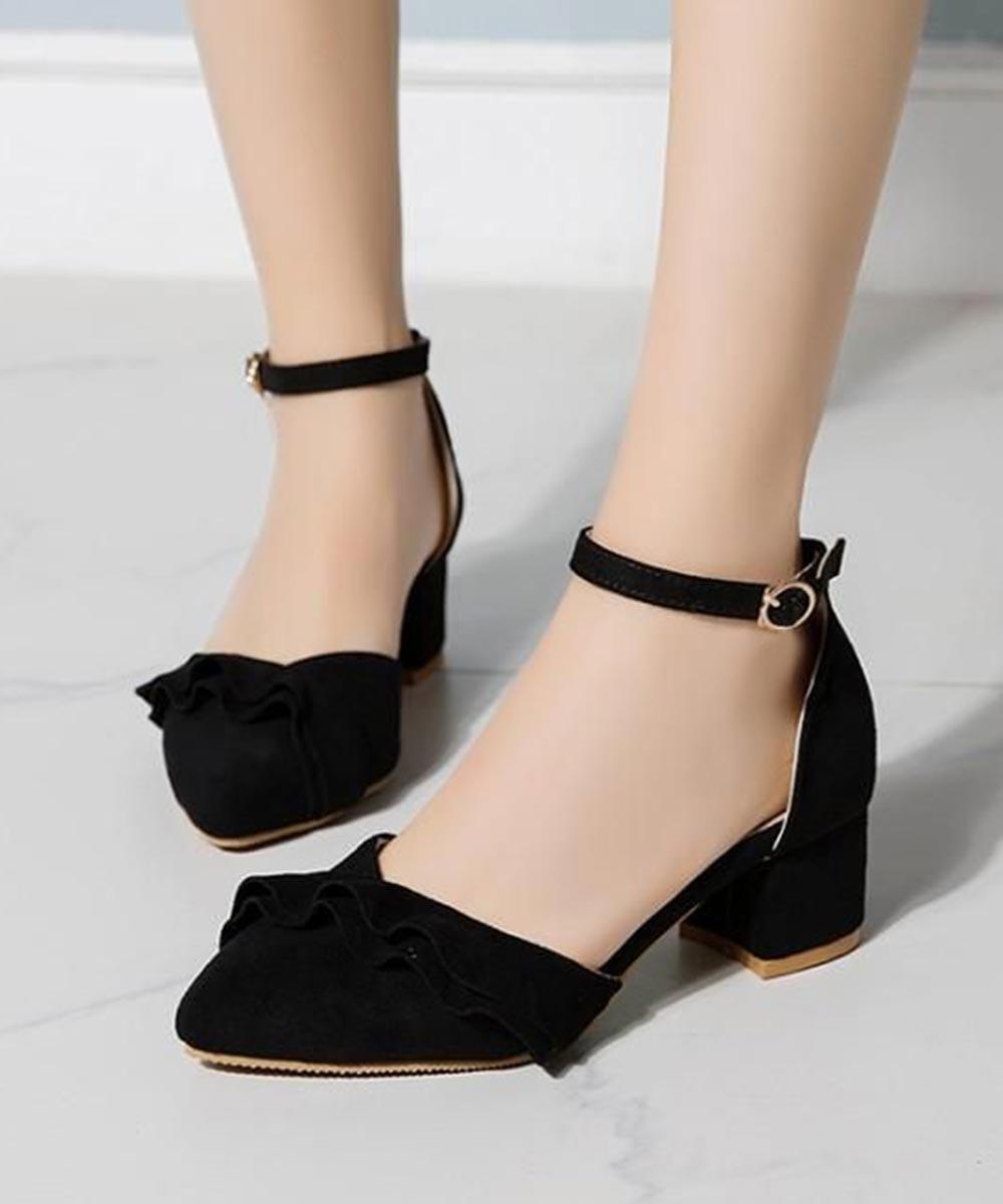 Song of style block heels ( black )