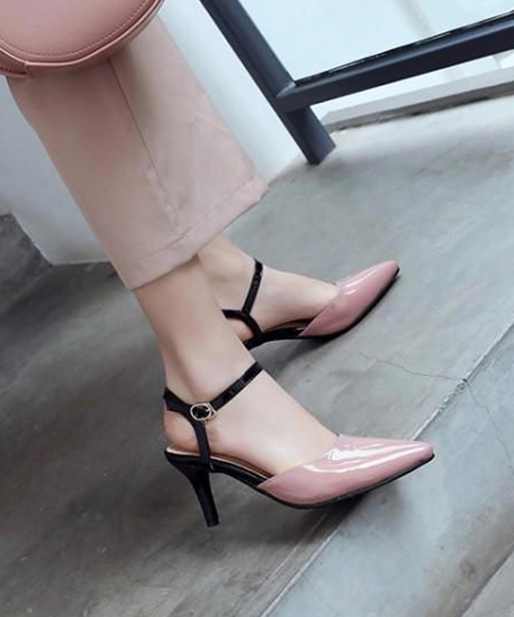 Shine the walk heels (Pink)