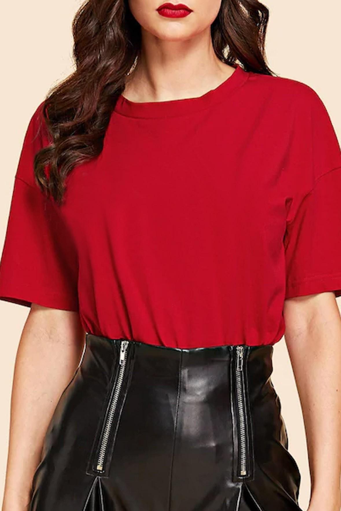 Half Sleeve Basic T-shirt