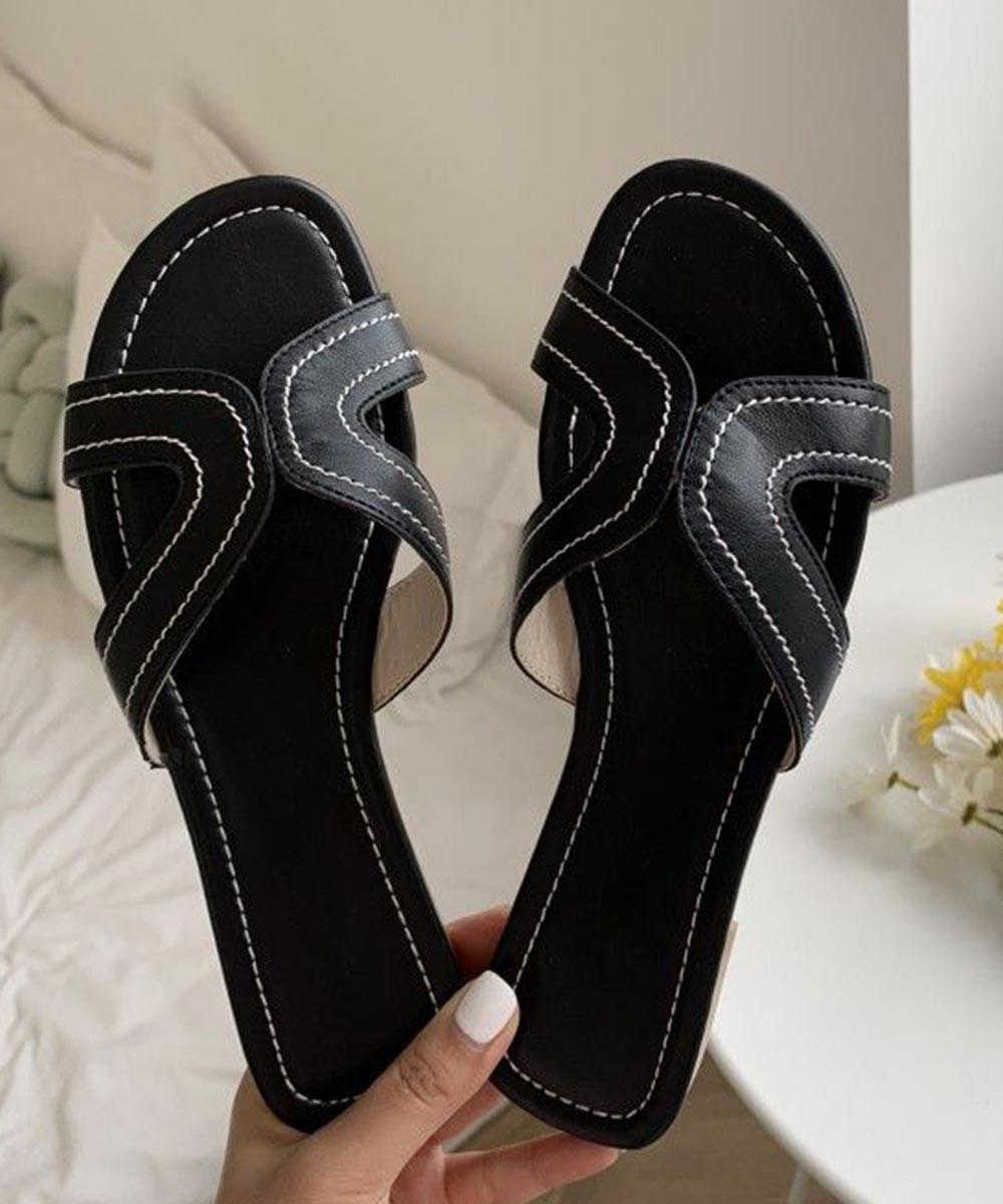Mademoiselle flat ( Black )