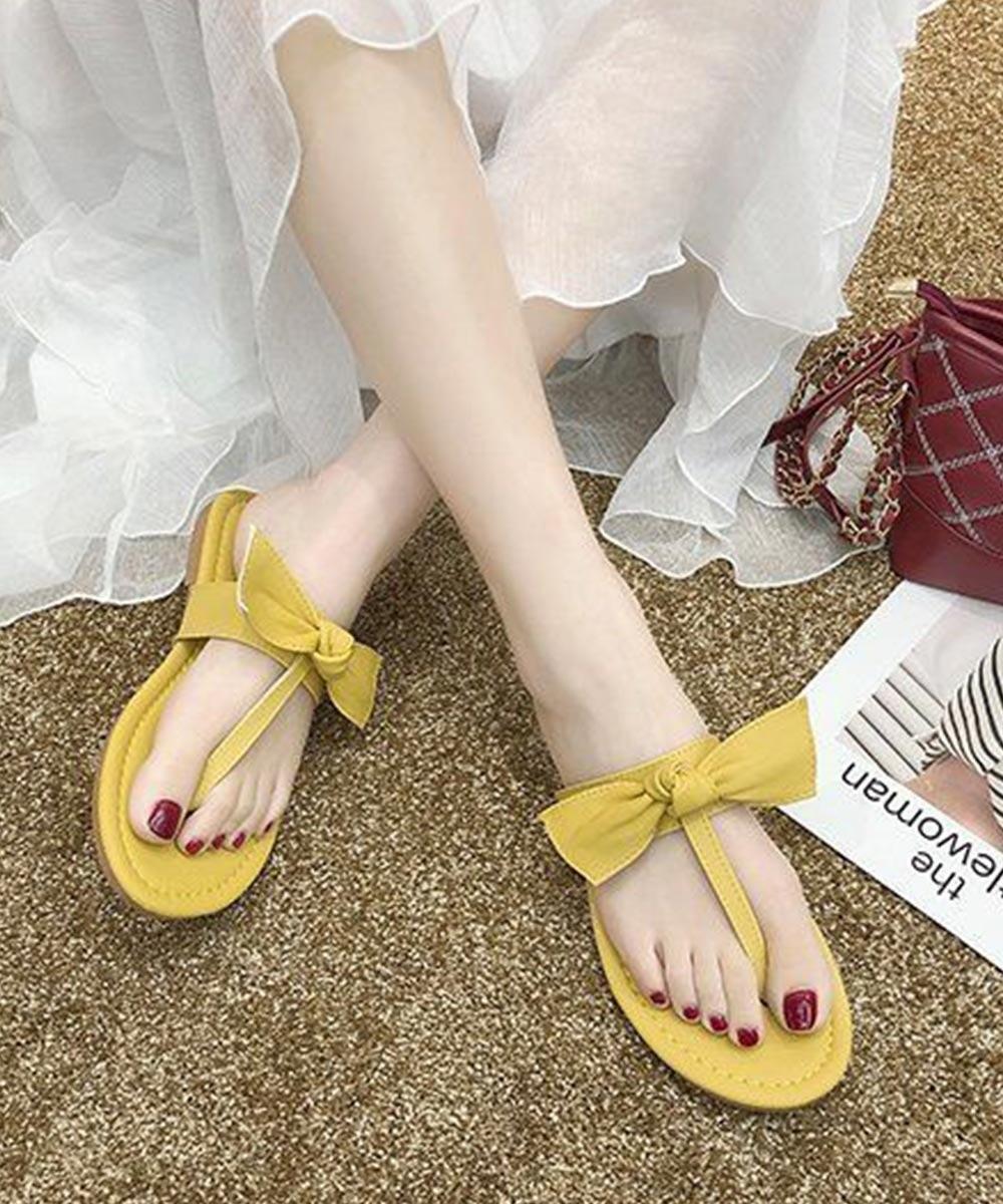 Fan of gossip girls flats ( yellow )