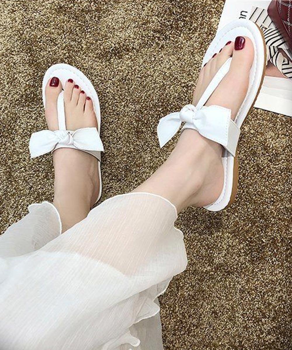 Fan of gossip girls flats ( white )
