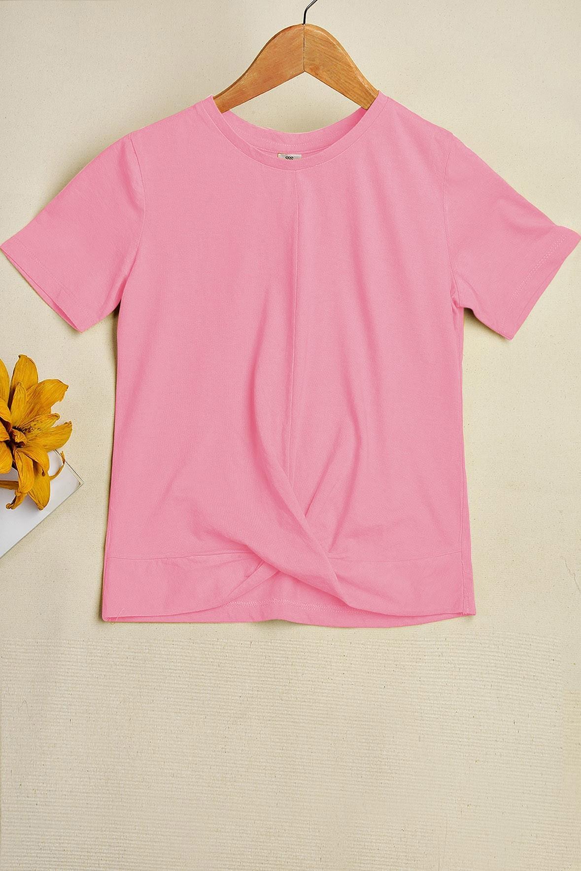 Around the Corner T-shirt Pink