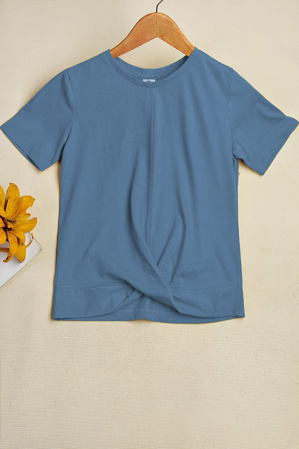 Around The Corner Blue T-shirt