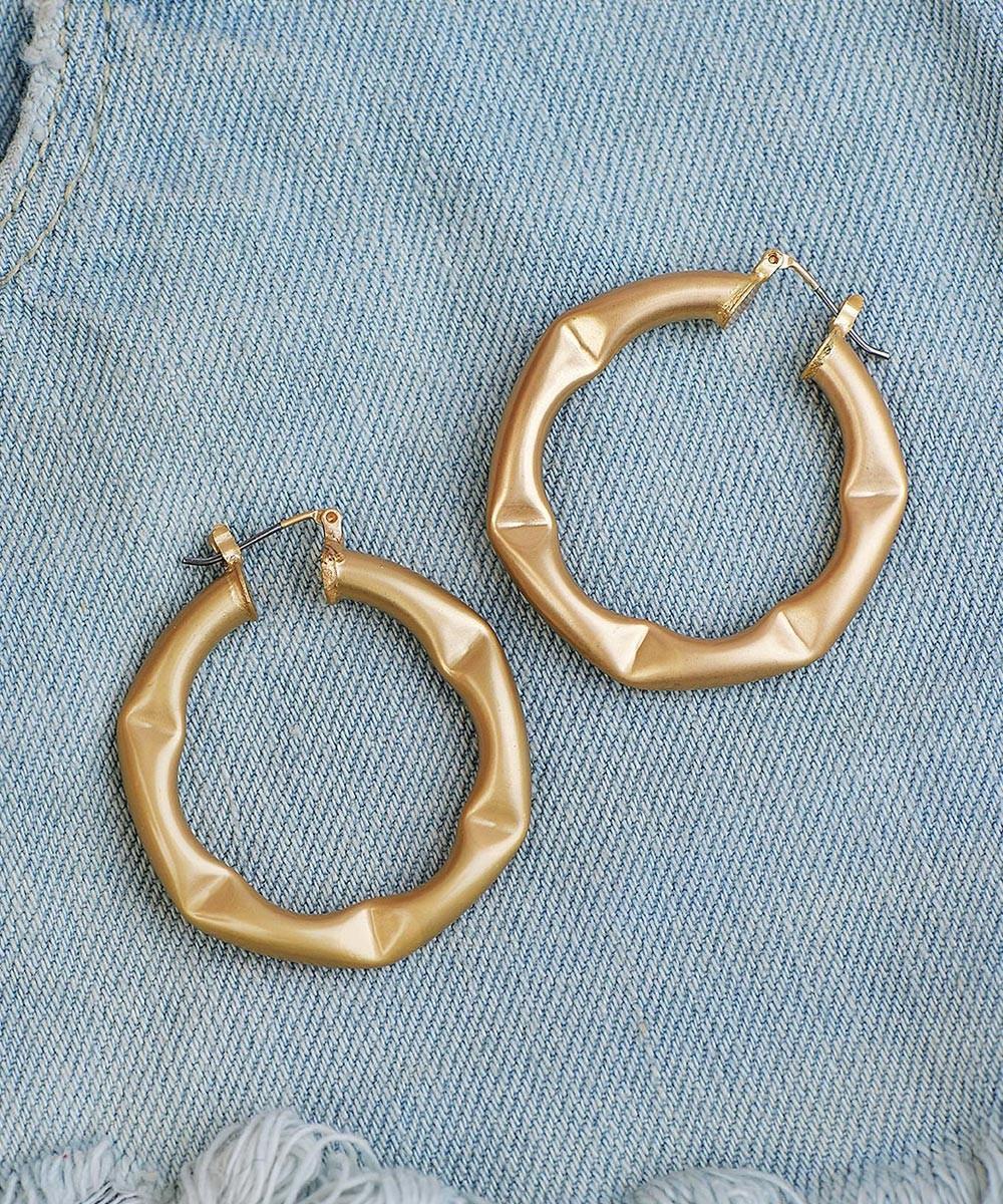 Hoop me up earrings