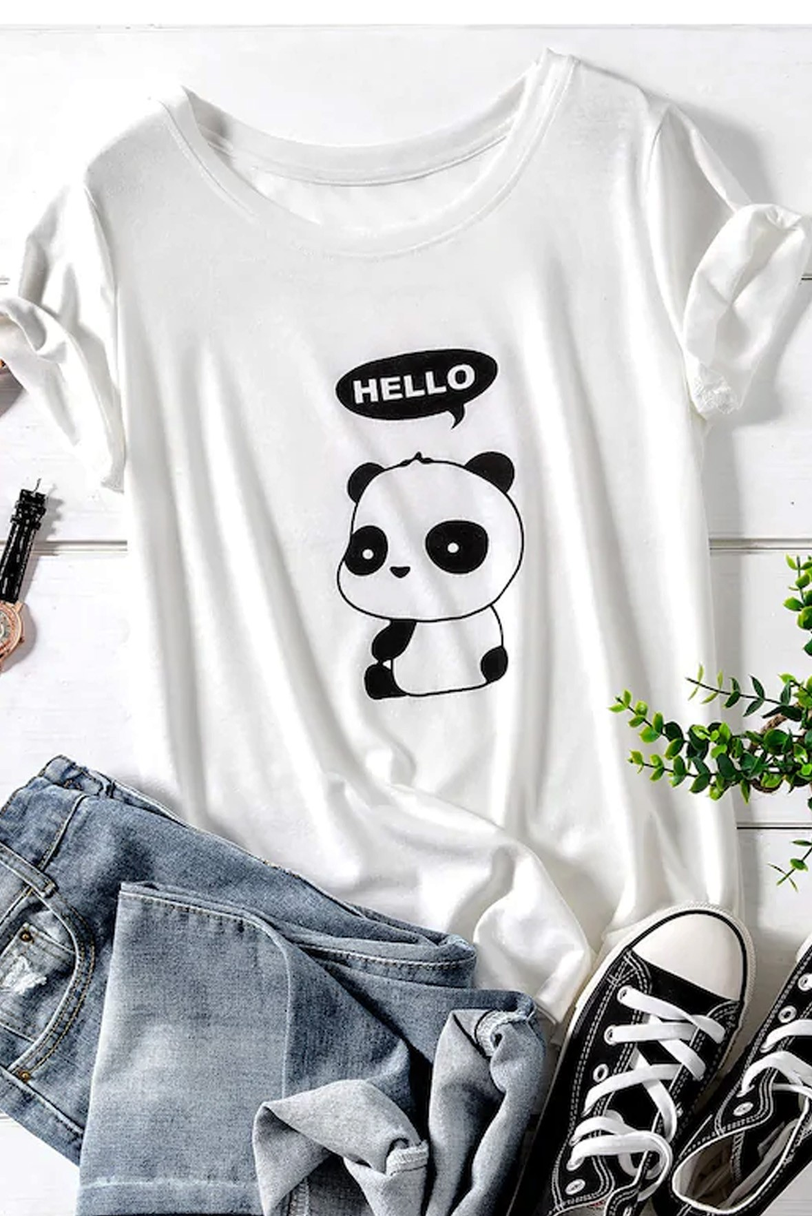 Hello Panda Tee