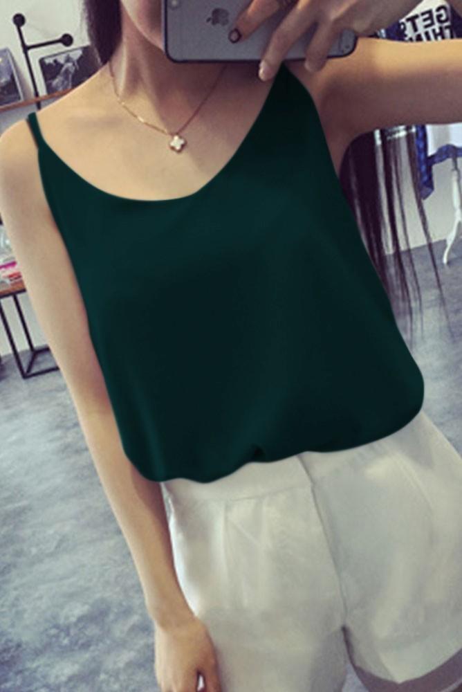 Hong Kong Vintage Style Dark Green