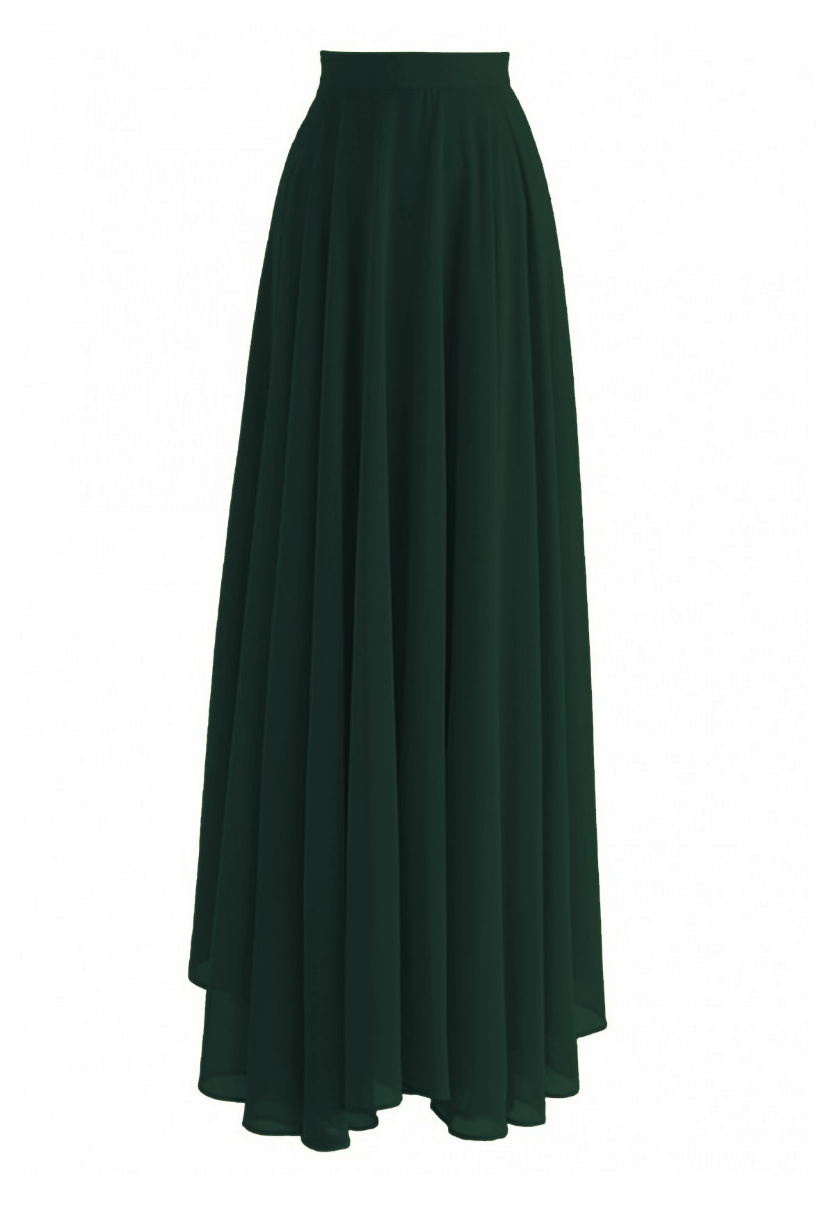 Timeless Favorite Skirt Dark green