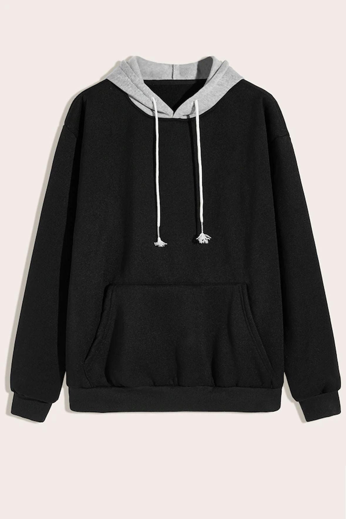 Crazy Black hoodie