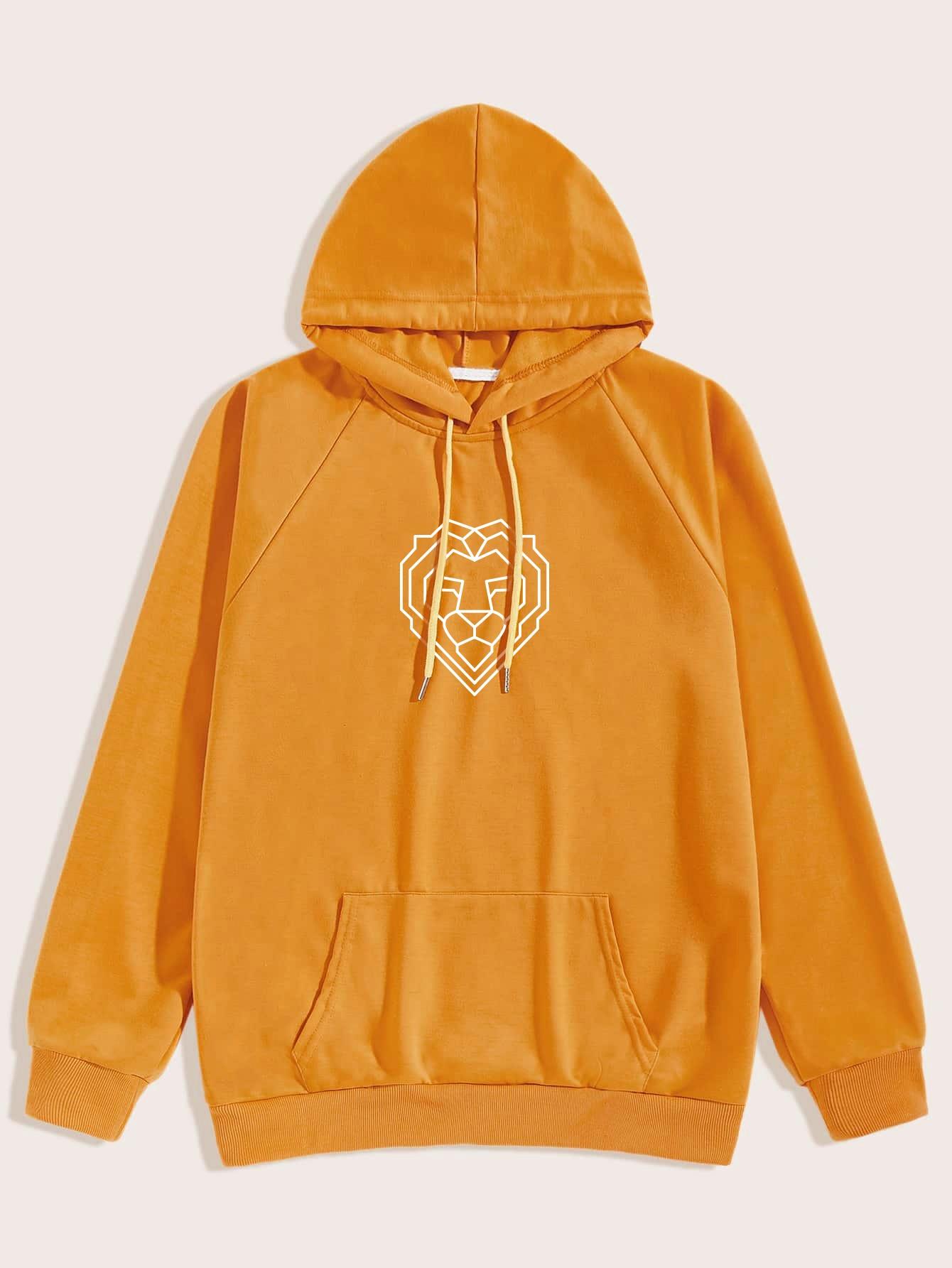 Lion hoodie