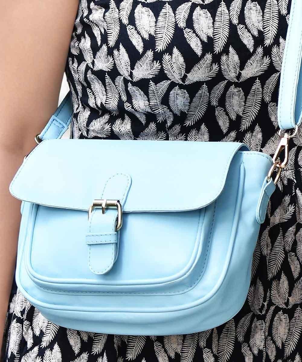 Jazz it up sling blue bag