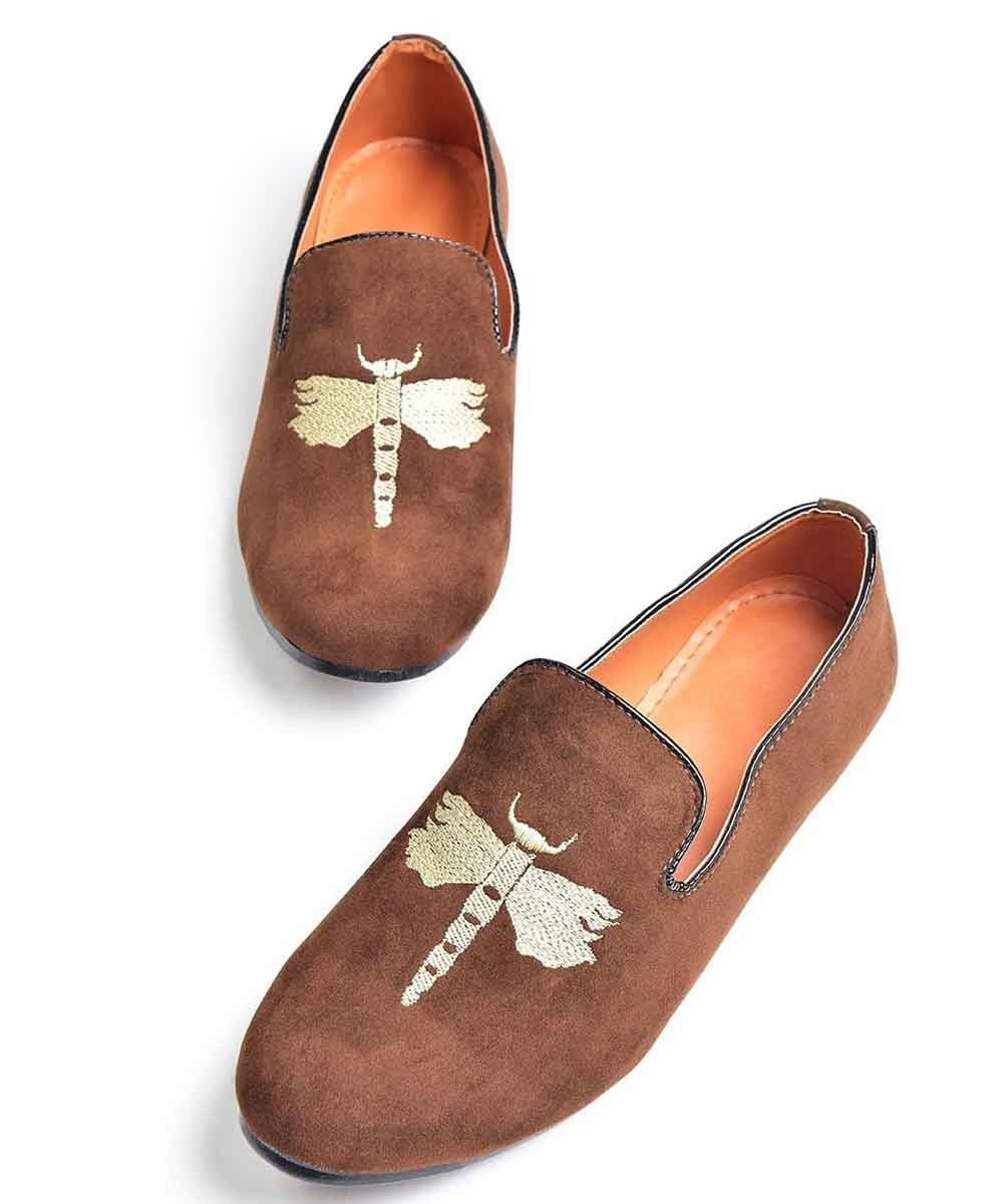 Classic brown loafers