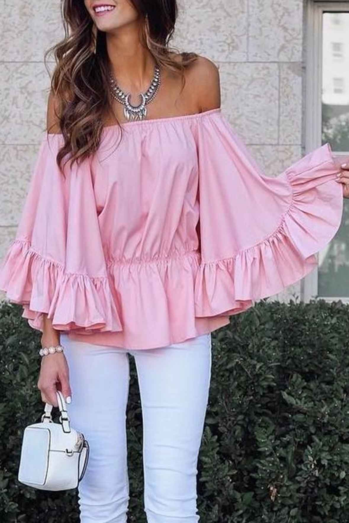 My Softer Side Top Pink