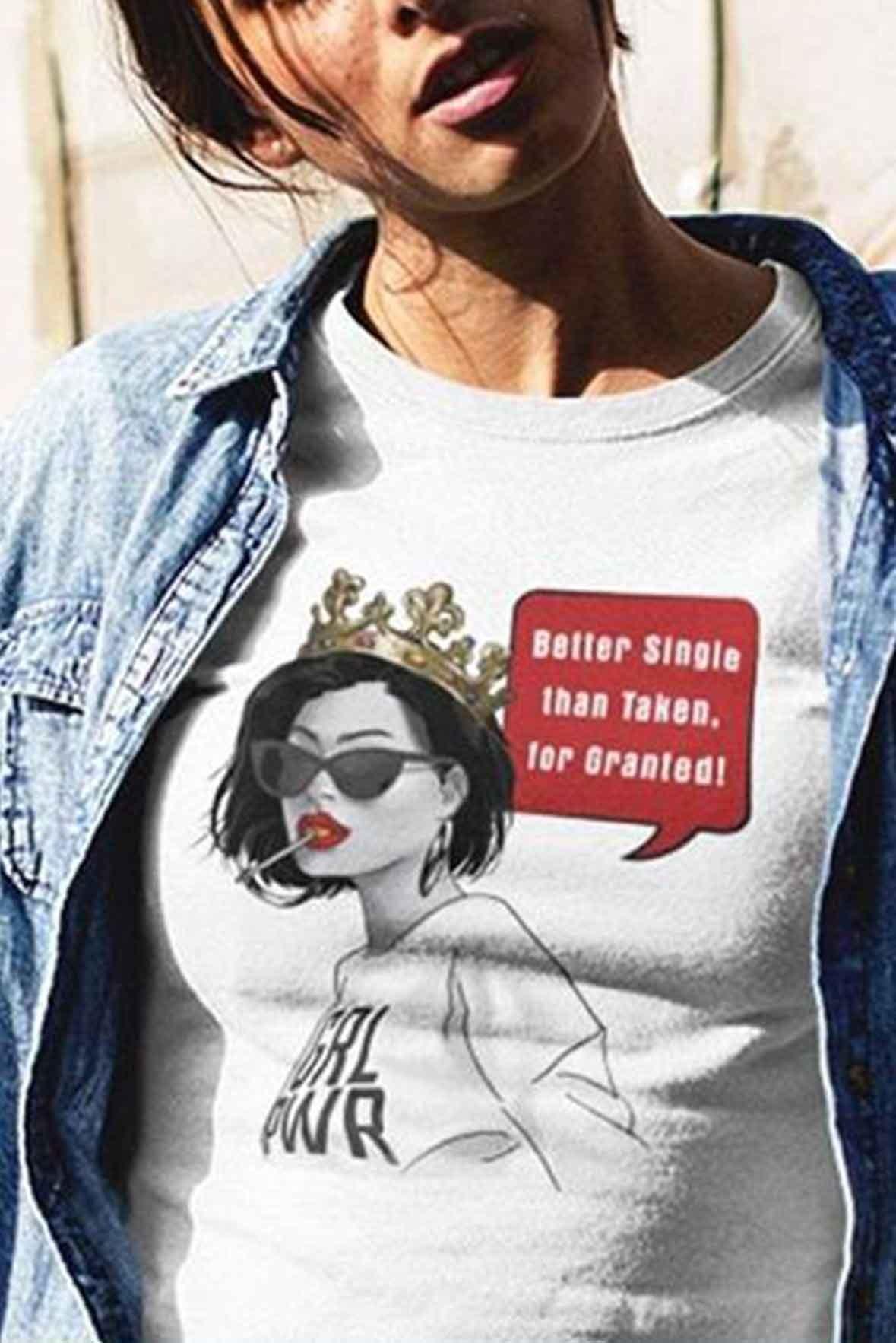Better Single t-shirt